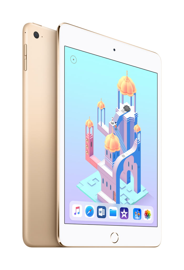 Apple® iPad mini 4 128GB Wi-Fi Only (2015 model, MK9Q2LL/A) - Gold