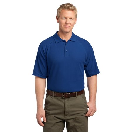 Cornerstone® - Ezcotton™ Tactical Polo. Cs414 Royal Xs - image 1 de 1