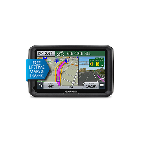 "Refurbished Garmin dezl 570LMT 5"" GPS Truck Navigator, Automotive GPS Refurbished by Garmin"