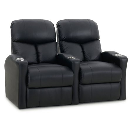 Octane Bolt XS400 2 Seater Manual Recline Bonded Leather Home Theater Seating Connector Home Theater Seat