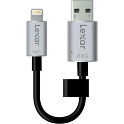 Crucial 64gb USB 3.0 Lexar Jumpdr C20i by Crucial