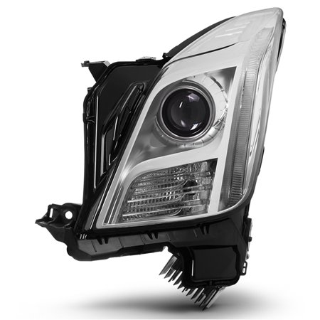 Fits 2013 2014 2015 Cadillac XTS [HID Models] Driver Side Headlight (1996 Cadillac Deville Headlight)