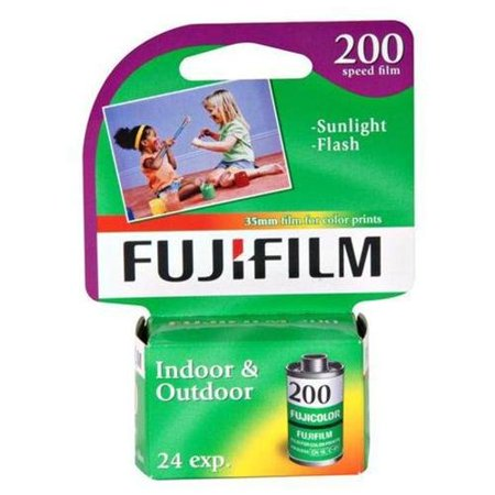 Fujifilm Ca135-24 Super Hq Iso 200 35mm Color Print Film (fuji Ca13524)