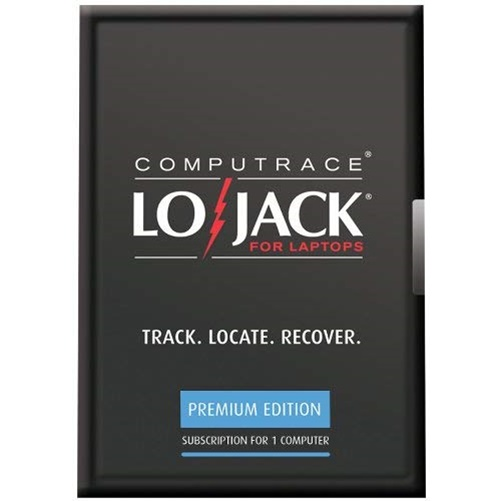 Absolute Computrace LoJack Premium Edition for Laptops 1  PC 3 Year