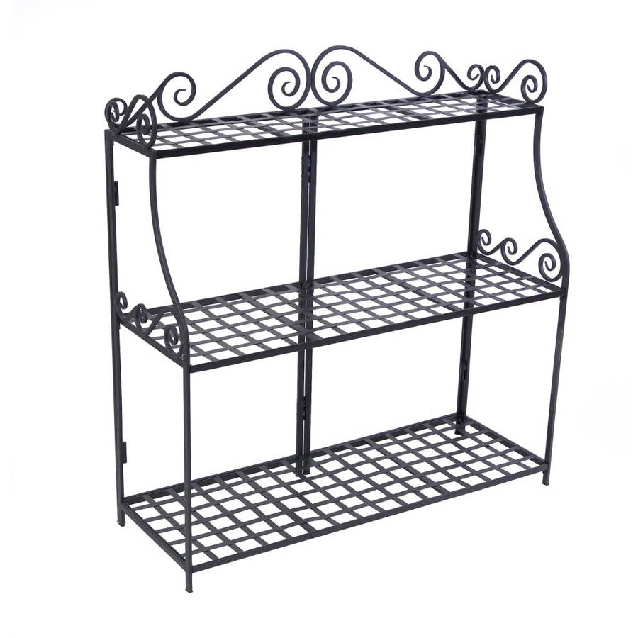 Panacea Forged 3-Tier Plant Stand