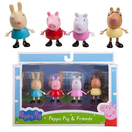 Jazwares Peppa Pig And Friends 3 Inch Figure 4 Pack Walmart Canada