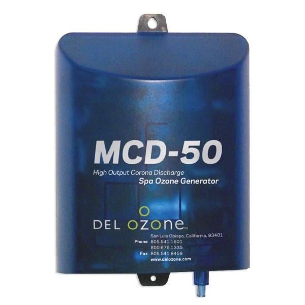Del Ozone MCD-50 Spa High Output, 220V with Mini Ozone Plug
