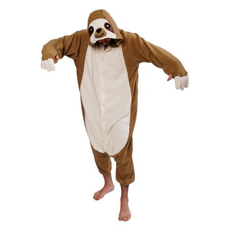 Adult Sloth Kigurumi Pajama Costume - Walmart.com df3a3d42a7