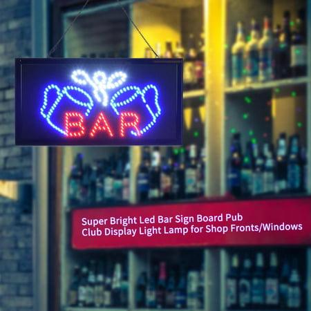 Ejoyous Super Bright Led Bar Sign Board Pub Club Display Light Lamp for Shop Fronts/Windows,  LED billboards , Pub Led Display - image 3 de 7