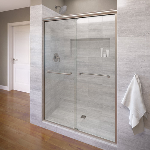 Basco Infinity 47'' x 70'' Framed Bypass Framed Shower Door