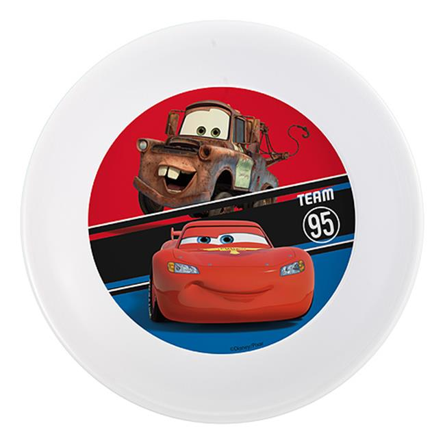 Zak Design Disney Cars CASV-0361 5. 5 inch Melamine Bowl Set, Pack Of 6