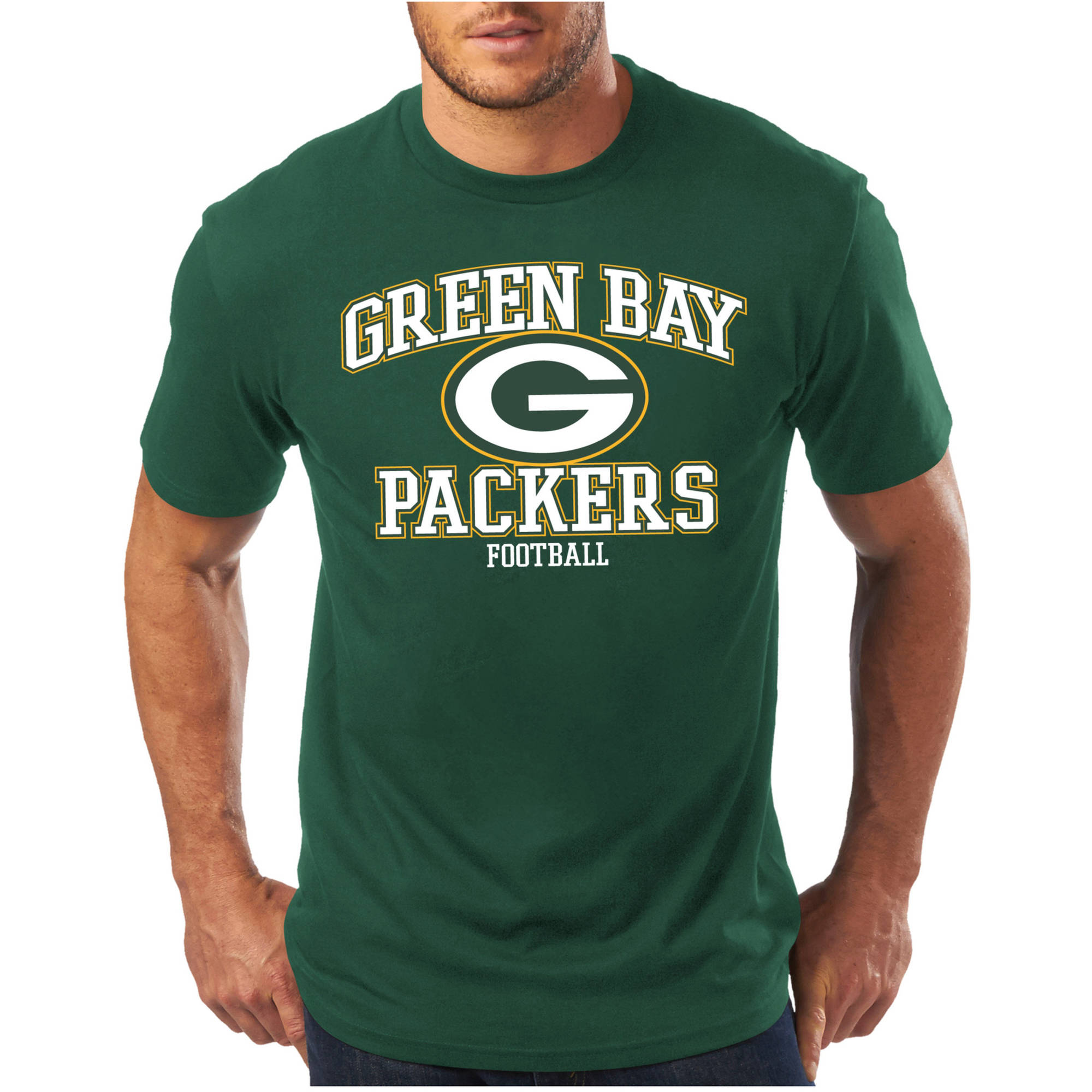 NFL Big Men's Green Bay Packers Short Sleeve Tee