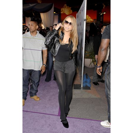 Mariah Carey At In-Store Appearance For Mariah Carey EMc2 Album Signing Universal Citywalk Stage Los Angeles Ca April 17 2008 Photo By Michael GermanaEverett Collection Celebrity