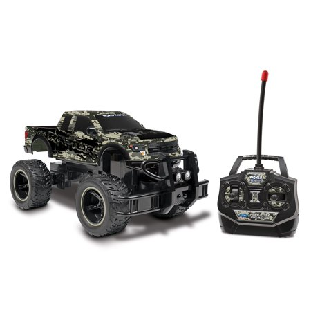 (Digital Camo 1:24 Licensed Ford F-150 SVT Raptor RC Truck)