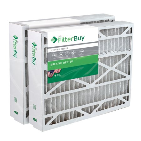 17.5x27x5 Trane Perfect Fit BAYFTFR17M Aftermarket Furnace Filter / Air Filter - AFB Silver (Merv 8). (2 Pack)