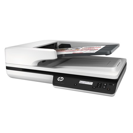 HP Scanjet Pro 3500 f1 Flatbed Scanner, 600 x 600 dpi, Automatic Document Feeder -HEWL2741A ()