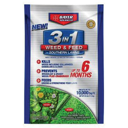 BAYER CROPSCIENCE 704841T WEED AND FEED 25LB