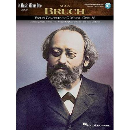 Bruch - Violin Concerto No. 1 in G Minor, Op. 26: Music Minus One Violin (Bruch Violin Concerto In G Minor Sheet Music)