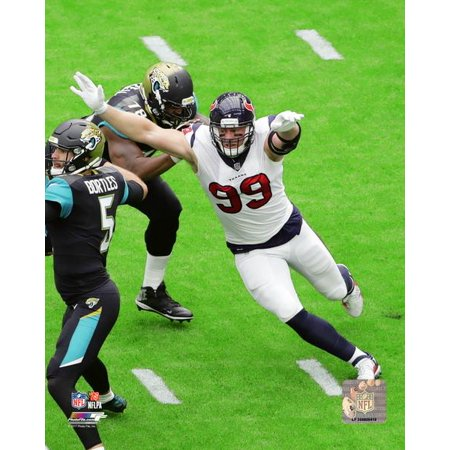 JJ Watt 2017 Action Photo Print - Jj Watts Halloween