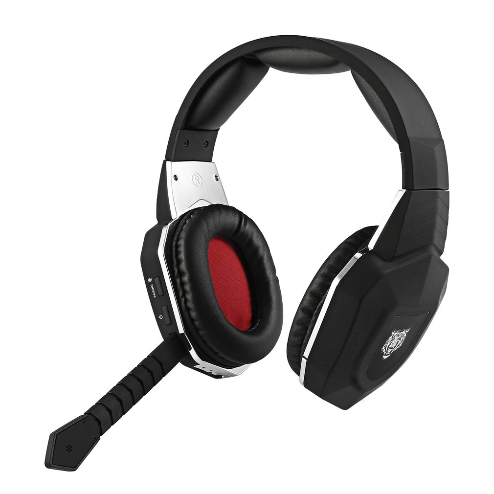 HC-S2039 2.4GHz Wireless Headset With Microphone Optical ...