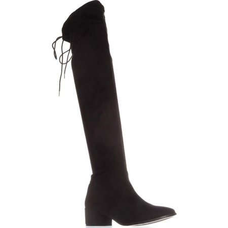 Womens Chinese Laundry Mystical Pull On Over-The-Knee Boots, Black