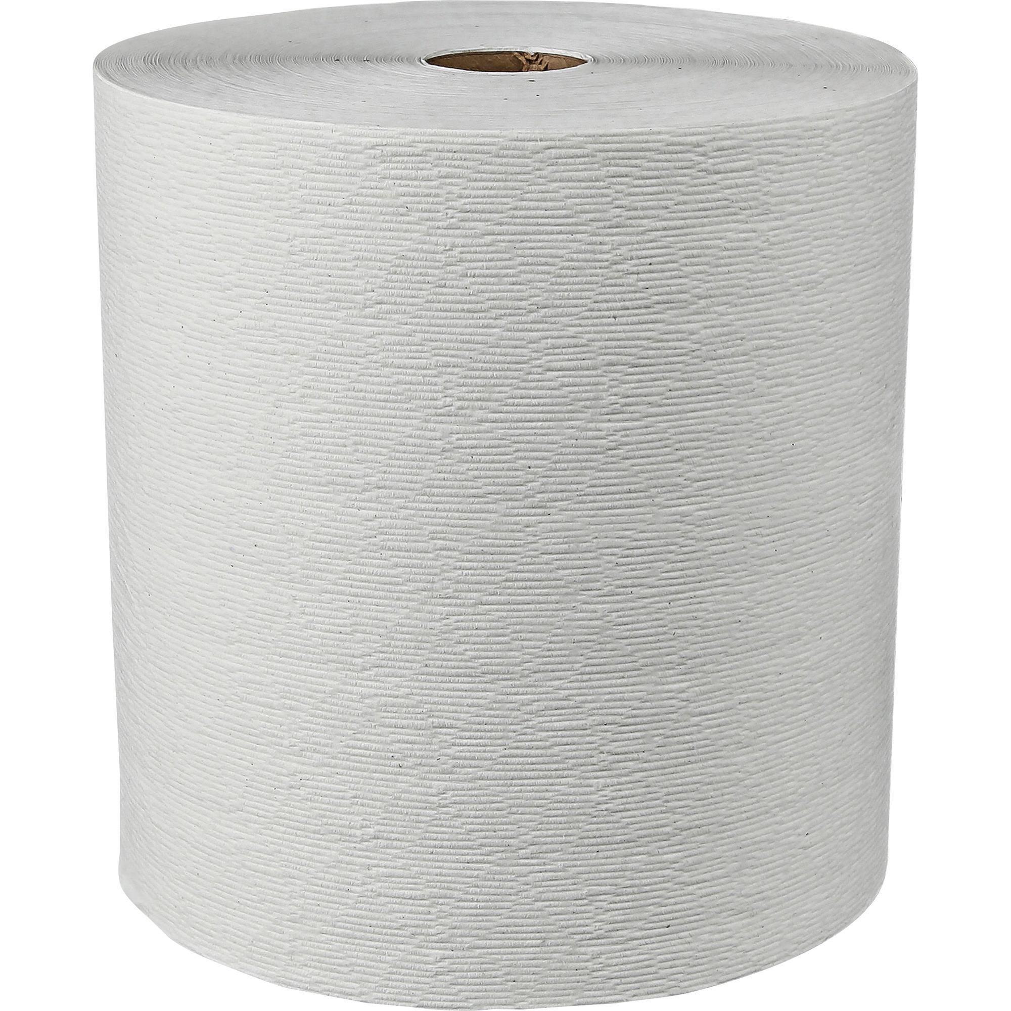Kleenex, KCC11090, 600' Hard Roll Towels, 6 / Carton, White