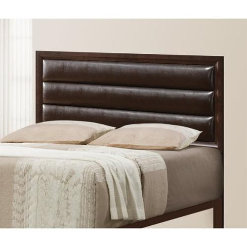 Headboard with Rest Pillows (Queen - 63.5 in. W x 2.75 in. D x 50 in. H)
