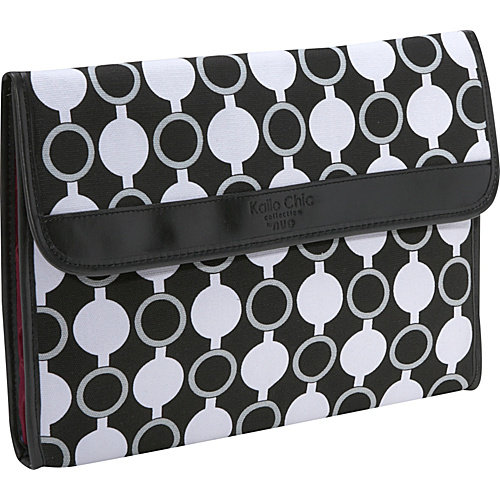 "nuo kailo chic by nuo sleeve for macbook air 11""/ipad/tablets (mod circles)"