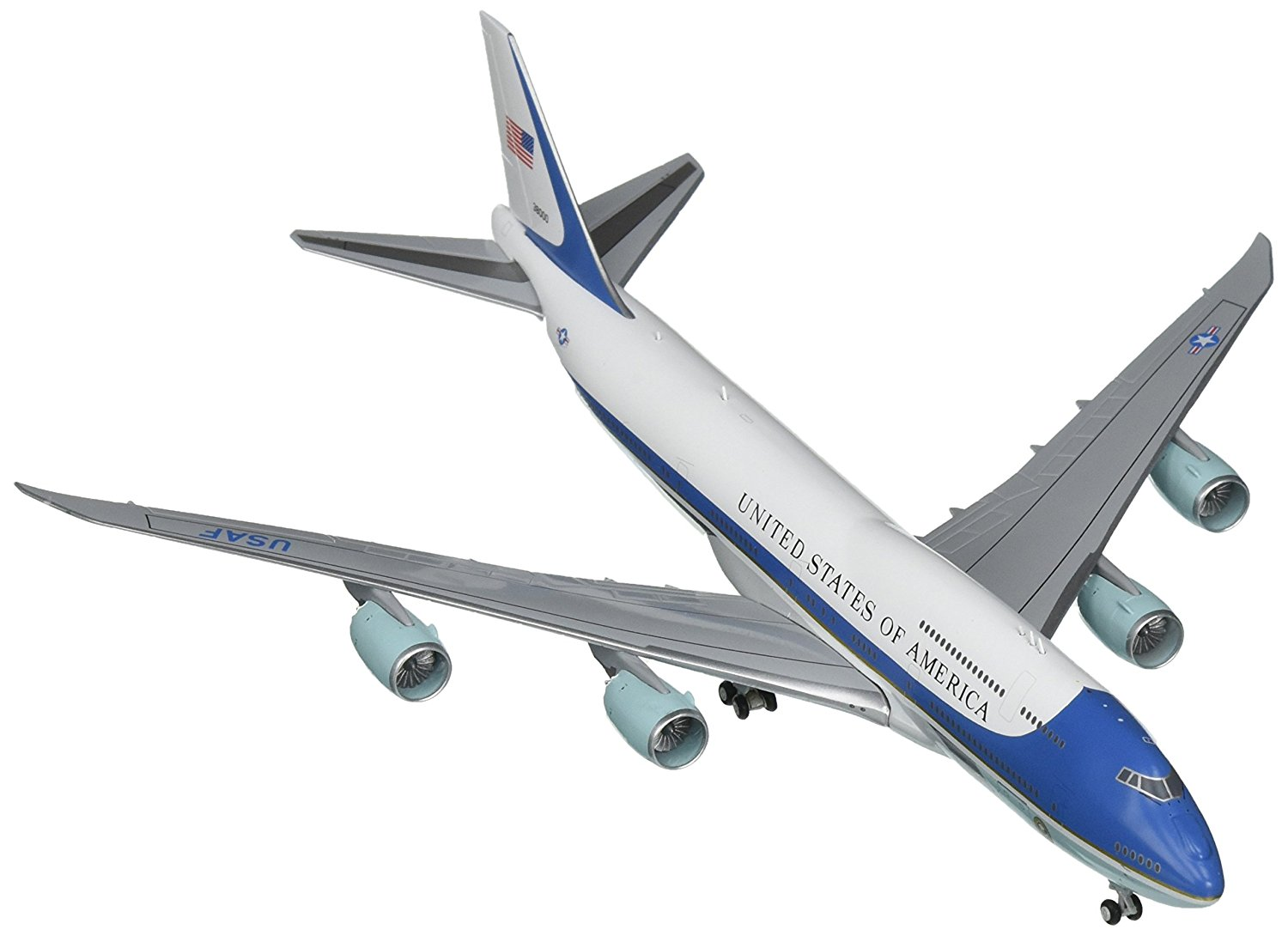 Gemini Jets United States Air Force B747-8i 'Air Force One' 38000 1:400 Scale Diecast Model Airplane by Gemini