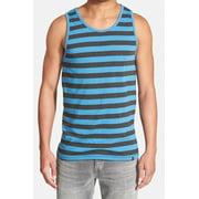Hurley NEW Blue Black Mens Size XL Tank Striped Dri-Fit Sleeveless Shirt