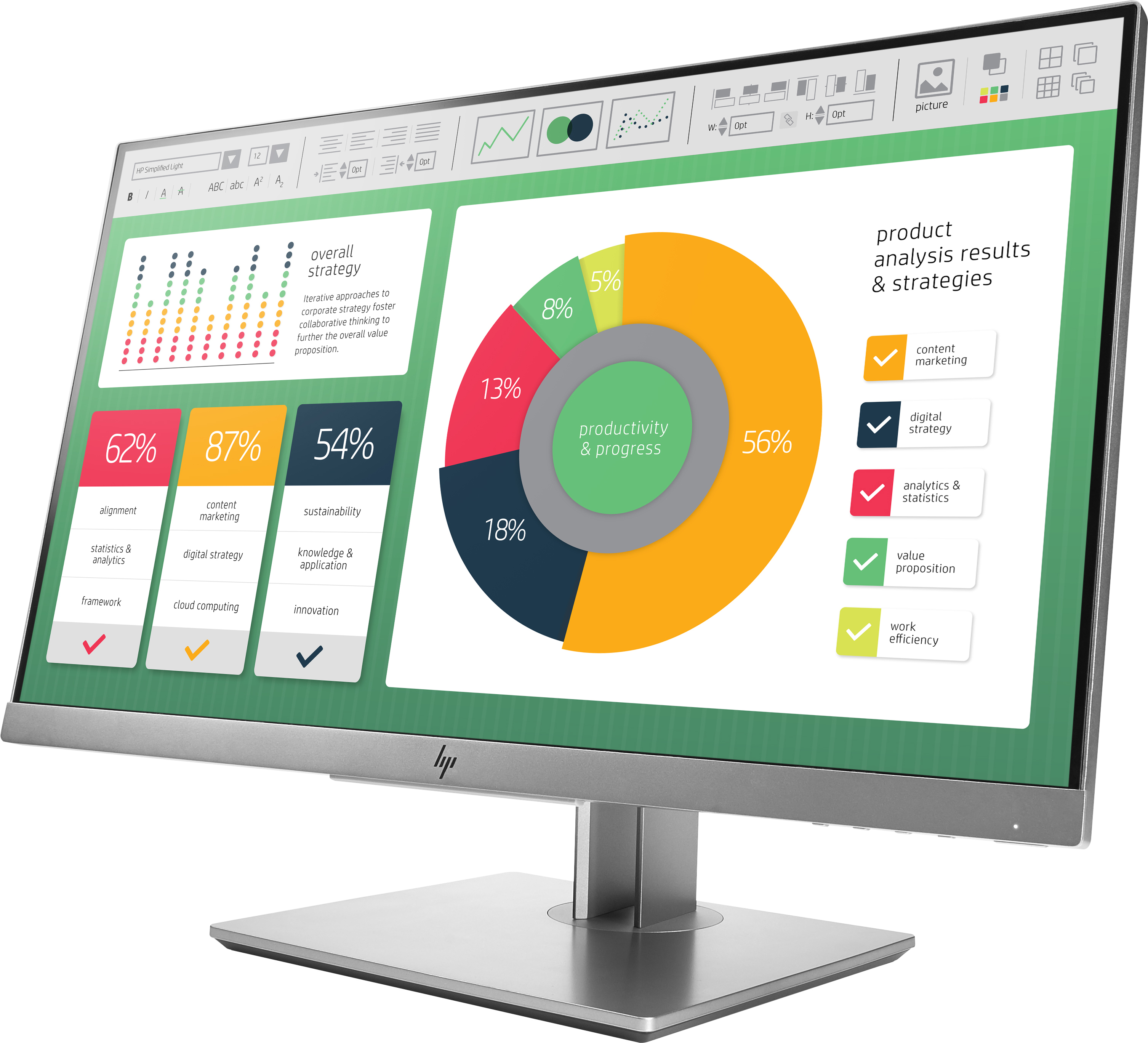 HP EliteDisplay E223 21.5-inch 5ms 1920x 1080 IPS Monitor