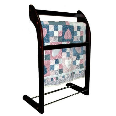 Horse Wood Rack - Proman 3-Bar Wooden Towel/Quilt Rack