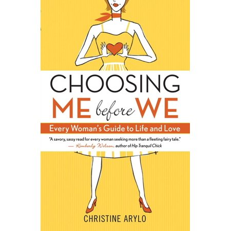 Choosing ME before WE - eBook Full of sass soul and the type of empowering wisdom that no woman should live without Choosing ME before WE is like a heart-to-heart with your closest girlfriend. And best of all youll discover that your closest girlfriend is your own truest self inside you always ready to offer wise loving advice and counsel about what is best for you. Designed to challenge and guide women to create the relationships they want instead of the ones they often find themselves stuck in this book is packed with: stimulating questions to uncover whats true for you daring you to get downright real about yourself and your relationships powerful techniques to change old habits that sabotage your dreams real-life experiences shared by the author her friends and her clients Author Christine Arylo who almost married the wrong guy for all the wrong reasons speaks to women of all ages whether theyre seeking a relationship evaluating a less-than-fulfilling one rebounding from a bad breakup or working through issues with a partner. Choosing ME before WE teaches women to stop settling to get real about the kind of partner theyre looking for and to start exploring and creating what they truly want in themselves and their relationships.