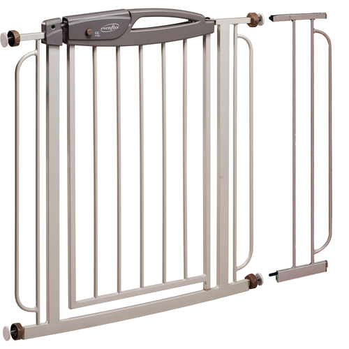 Evenflo - Easy Walk-Thru Metal Gate