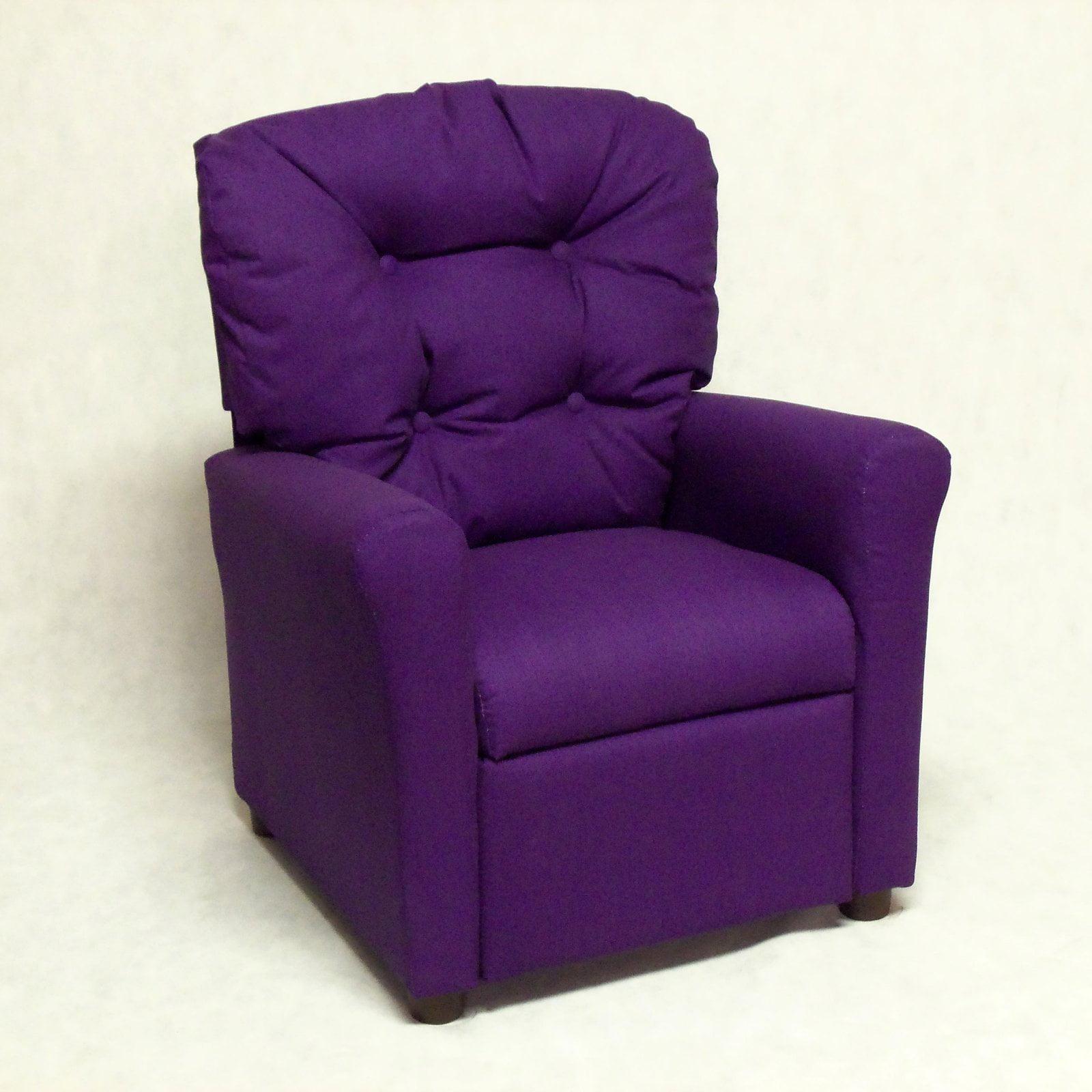 Walmarts Furniture: Brazil Furniture 4-Button Back Child Recliner