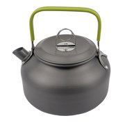 2021 NEW 0.8L Camping Teapot Kettle Coffee Pot Outdoor Portable Teapot Cooking Tool Cookware Picnic Hiking Supply green