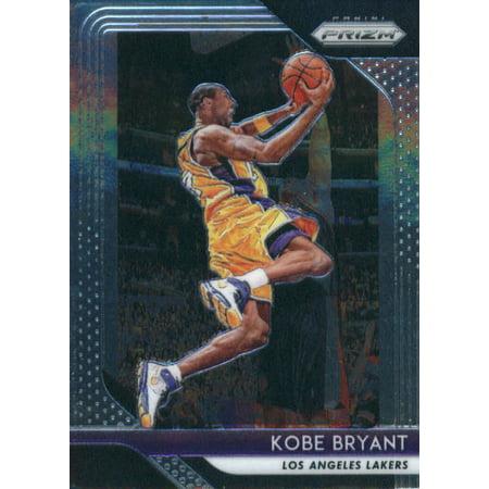 2018-19 Panini Prizm #15 Kobe Bryant Los Angeles Lakers Basketball Card