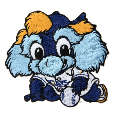 Tampa Bay Rays Baby Mascot Embroidered Patch - No Size