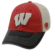 Top of the World Wisconsin Badgers Offroad Tri-Tone Adjustable Hat