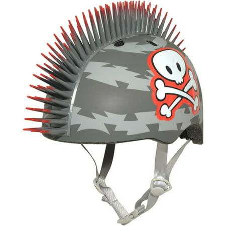 Cpreme Raskullz Miniz: Lil Pirate Mohawk Infant Helmet, Grey (Gray N-com Helmet)