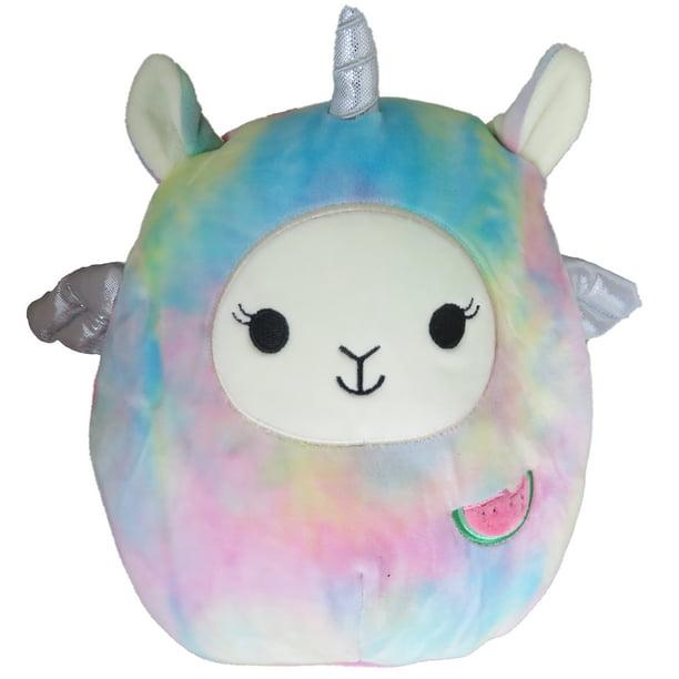 Squishmallow 8 Inch Lucy May The Llama Pegacorn Plush Toy Soft Stuffed Animal Limited Edition Rainbow Walmart Com Walmart Com