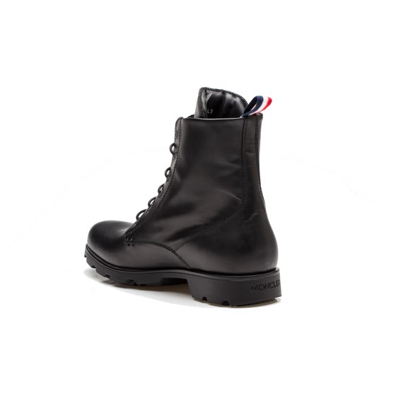 c8bc4dfeafec Moncler - Moncler Vancouver Men s Leather Lace Up Combat Boot Shoes ...