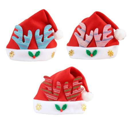 Christmas Xmas Hats Festival Hat Decor Hats for Children Kid New Year Gift Hot - New Year Gift