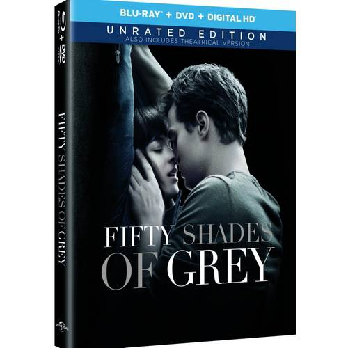 Fifty Shades Of Grey (Unrated) (Blu-ray + DVD + Digital HD) (With INSTAWATCH)