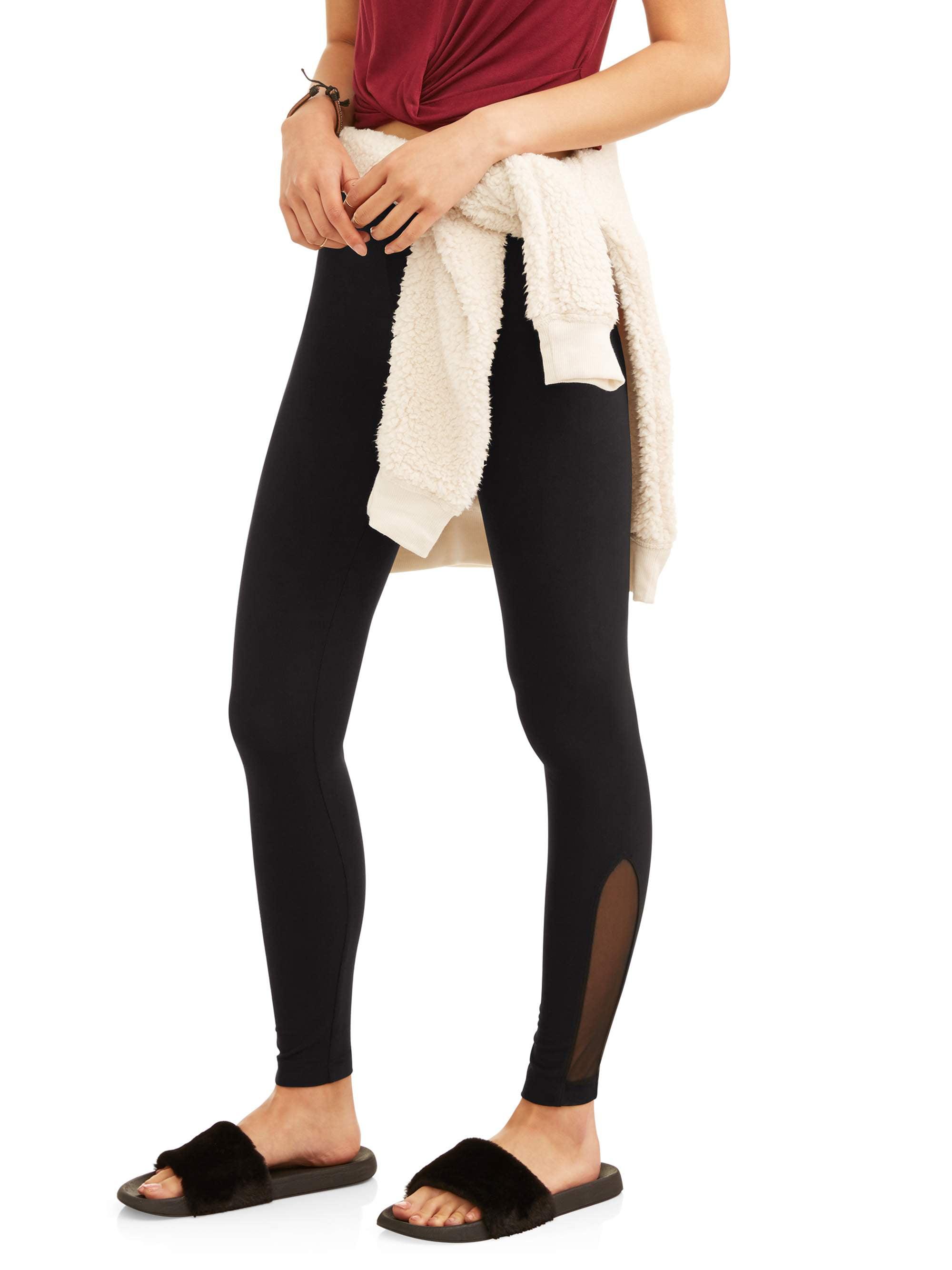 8384ab8772c713 Check Inventory. Juniors' Fashion Side Mesh Ankle Leggings (Prints ...