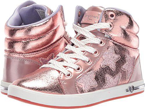 Skechers Kids Girl's Shoutouts Rose 84320L (Little Kid/Big Kid) Rose Shoutouts Gold 3 M US Little Kid 9494b2