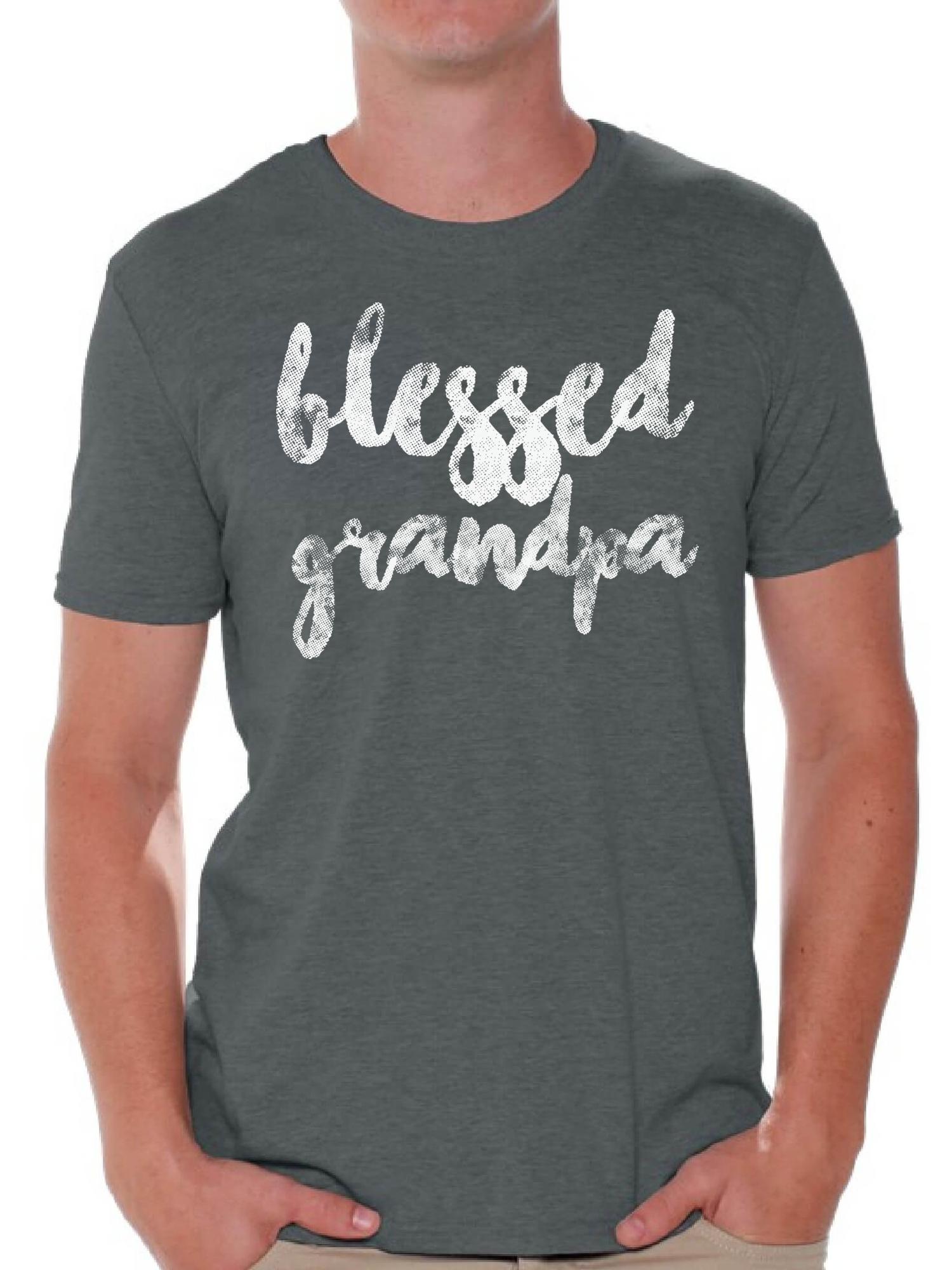 Awesome GRANDAD T Shirt grandpa gift birthday present papa mens