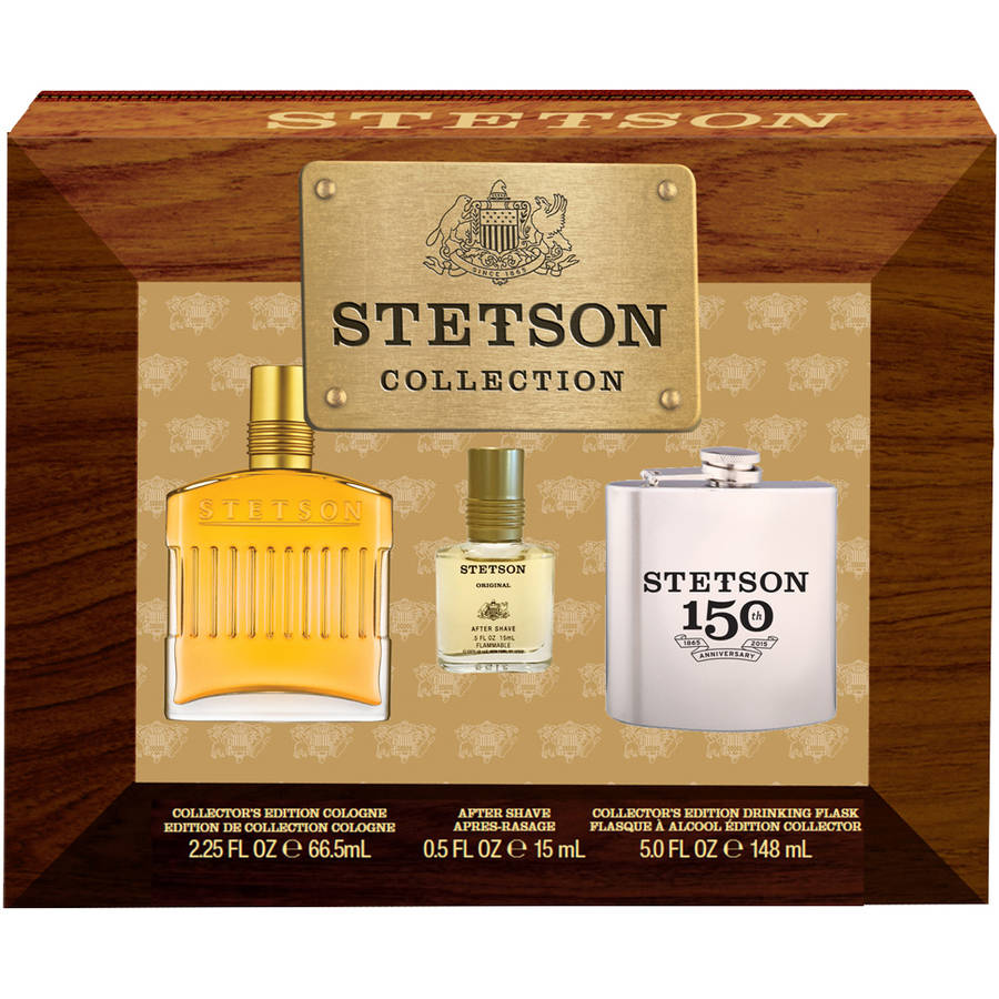 Stetson Collector's Edition Men's Gift Set, 3 pc