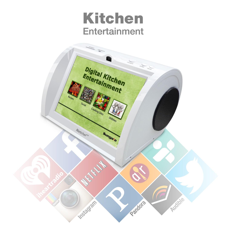 Sungale NC820 Digital Kitchen Entertainment Device