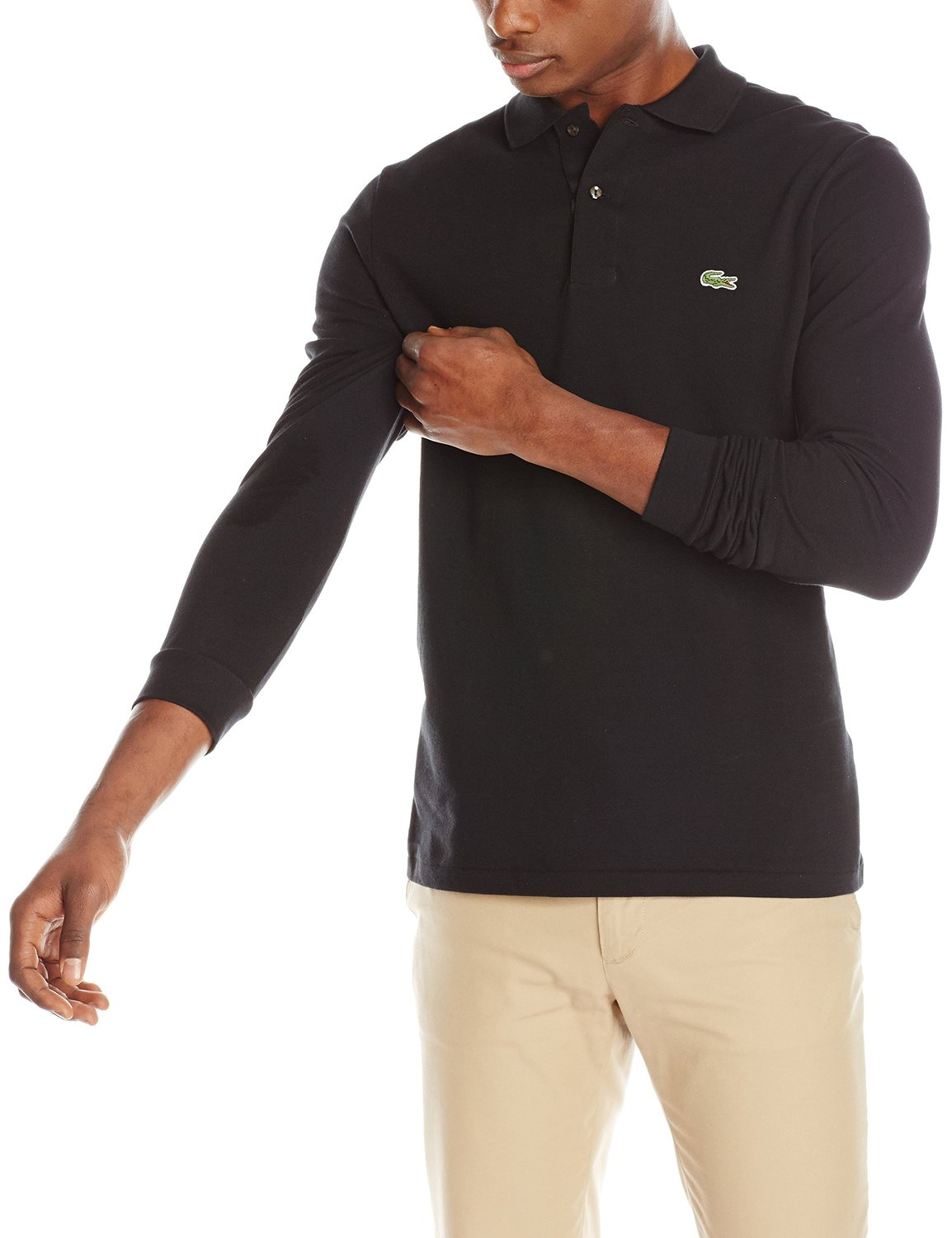 4528fa1c89 Lacoste Long Sleeve Classic Pique Polo Shirt - Mens